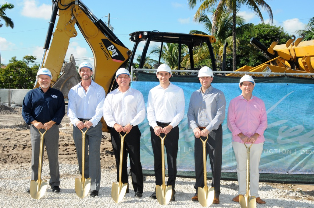 Macken Companies Beach House Groundbreaking Photo 1.11.16