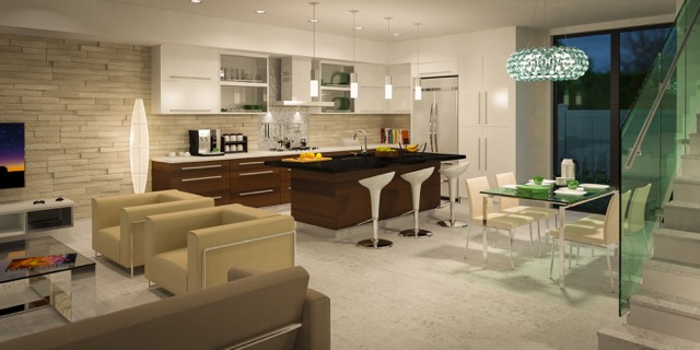Parallel 2 Model Kitchen, Macken Companies